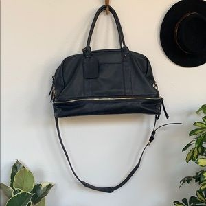Sole society mason bag - vegan leather navy
